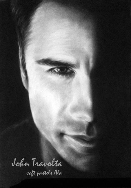 John Travolta par Alicja